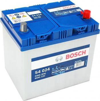 autobatterie bosch silver s4024 12v 60ah 540a 0092s40240. Black Bedroom Furniture Sets. Home Design Ideas