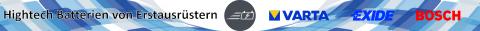 Kaufen Sie Erstausrüster Autobatterien von Bosch Exide Varta