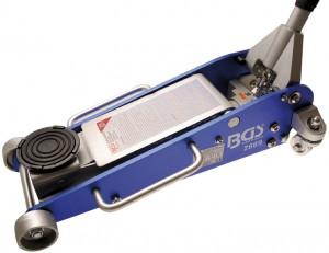 Hydraulischer Wagenheber, 2,5t., Aluminium-Stahl-Konstruktion