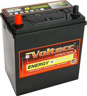 Voltecc Energy Asia 53522 12V 35Ah 300A Pluspol links