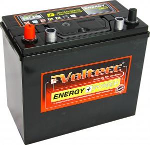 Voltecc Energy Asia 54551 12V 45Ah 360A Pluspol links