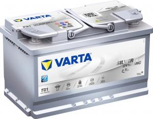 Varta F21 AGM VLRA Silver Dynamic 12V 80Ah 800A 580901080