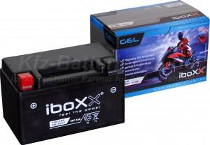 GEL Motorradbatterie 12V 6Ah 50615 YTX7A-BS