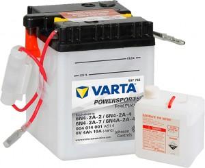 Varta Powersports FP 004014001 6N4-2A-7 6V 4Ah 10 A