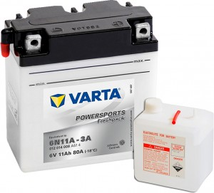 Varta Powersports FP 012014008 6N11A-3A 6V 11Ah 80 A