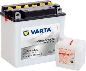 Varta Powersports FP 507013004 12N7-4A 12V 7Ah 74 A