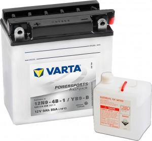 Varta Powersports FP 509014008 12N9-4B-1 12V 9Ah 85 A