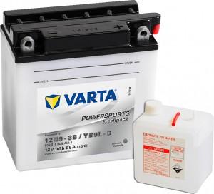Varta Powersports FP 509015008 12N9-3B 12V 9Ah 85 A