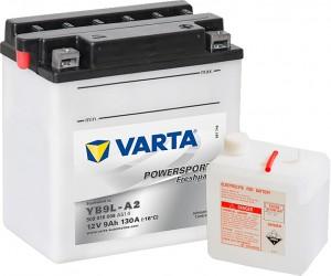 Varta Powersports FP 509016008 YB9L-A2 12V 9Ah 130 A