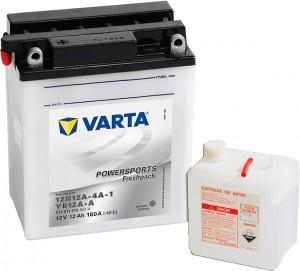 Varta Powersports FP 512011012 YB12A-A 12V 12Ah 160 A