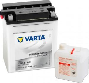 Varta Powersports FP 514012014  YB14-A2 12V 14Ah 190 A