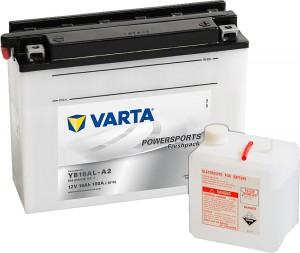 Varta Powersports FP 516016012 12V 16Ah 120 A
