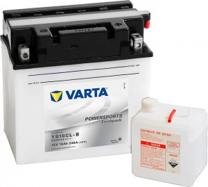 Varta Powersports FP 519014018 YB16CL-B 12V 19Ah 240 A