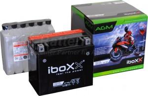 AGM Vliesbatterie Motorradbatterie 51012 YTX12-BS 10Ah 12V