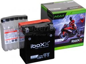 AGM Vliesbatterie Motorradbatterie 50614 YTX7L-BS 6Ah 12V