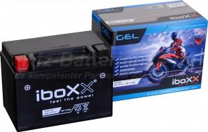 GEL Motorradbatterie 12V 11,5Ah 51121 YTZ14-S