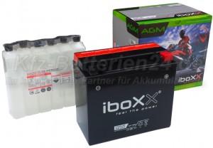 AGM 82000 Motorradbatterie 52014 YTX20L-BS 20Ah 12V
