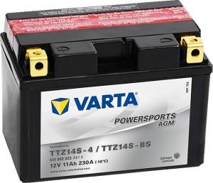 Varta Powersports AGM 511902023 TTZ14S-BS 12V 11Ah 230 A