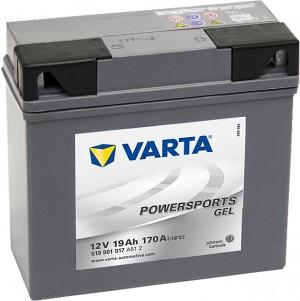 Varta Powersports GEL 519901017 12V 19Ah 170 A