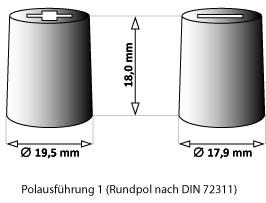 Bosch T5077 HDE 12V 180Ah 1000A 0 092 T50 770