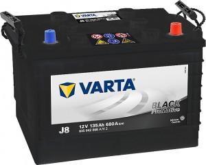 Varta J8 ProMotive Black 12V 135Ah 680A 635042068