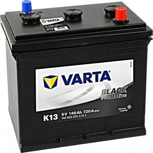 Varta K13 ProMotive Black 6V 140Ah 720A 140023072