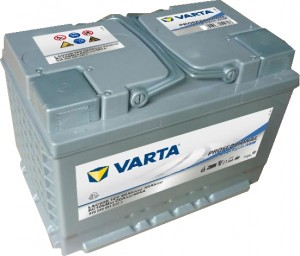 Varta LAD60B Professional DeepCycle AGM 12V 60Ah 464A 830060051