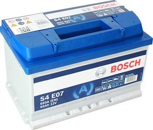 Bosch S4E07 EFB Start Stop 12V 65Ah 650A 0092S4E070