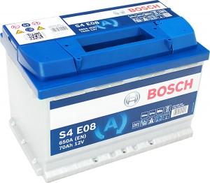 Bosch S4E08 EFB Start Stop 12V 70Ah 650A 0092S4E080