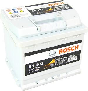 Bosch S5002 12V 54Ah 530A 0092S50020