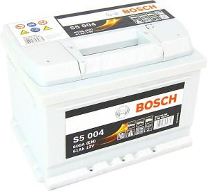Bosch S5004 12V 61Ah 600A 0092S50040