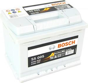 Bosch S5005 12V 63Ah 610A 0092S50050