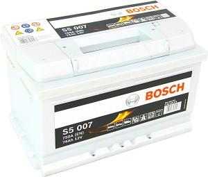 Bosch S5007 12V 74Ah 750A 0092S50070