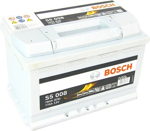 Bosch S5008 12V 77Ah 780A 0092S50080