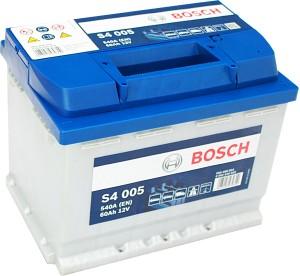 Bosch Silver S4005 12V 60Ah 540A 0092S40050