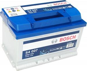 Bosch Silver S4007 12V 72Ah 680A 0092S40070