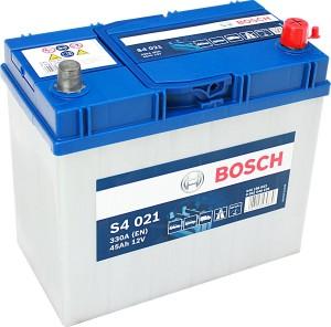 Bosch Silver S4021 12V 45Ah 330A 0092S40210