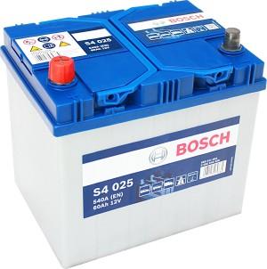 Bosch Silver S4025 12V 60Ah 540A 0092S40250 Pluspol links