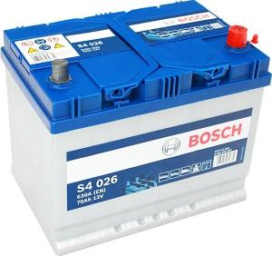 Bosch Silver S4026 12V 70Ah 630A 0092S40260