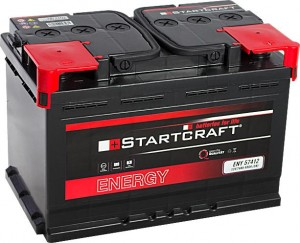 Startcraft Energy 57412 12V 74Ah 680A