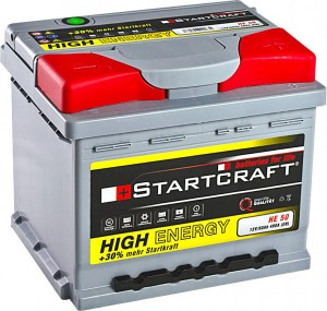 Startcraft High Energy HE50 12V 50Ah 480A
