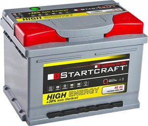 Startcraft High Energy HE65 12V 65Ah 580A