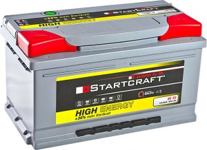 Startcraft High Energy HE85 12V 85Ah 780A
