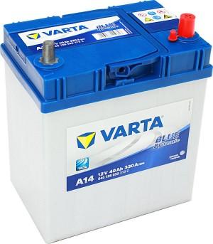 Varta A14 Blue Dynamic 12V 40Ah 330A Dünnpol 540126033