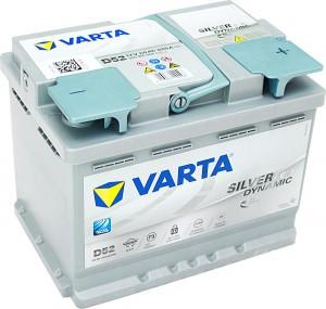 Varta D52 AGM VLRA Silver Dynamic 12V 60Ah 680A 560901068