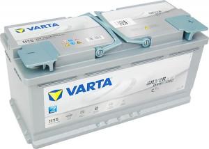 Varta H15 AGM VLRA Silver Dynamic 12V 105Ah 950A 605901095