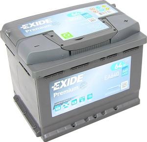 EXIDE EA640 Premium Carbon Boost 12V 64Ah 640A