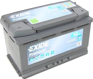 EXIDE EA900 Premium Carbon Boost 12V 90Ah 720A