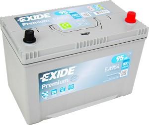 EXIDE EA954 Premium 12V 95Ah 800A