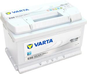 Varta E38 Silver Dynamic 12V 74Ah 750A 574402075